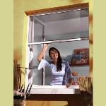 Storinsect Moustiquaire enroulable en PVC (80 x 100 cm)