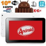 """Yonis Y-tt19g24 - Tablette tactile 10"""" sous Android 4.1 (8 Go interne + Micro SD 16 Go)"""