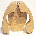 Tellier Moule à beurre rond Triskel en bois