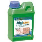 Algimouss ALGICIM - Nettoyant voiles de ciment pour dallage et carrelage bidon de 1 litre