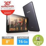 "Lenovo Tab A8-50 16 Go - Tablette tactile 8"" sur Android 4.2"