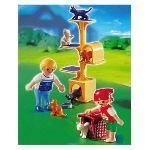 Playmobil 4347 - Enfants et arbre à chat