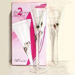 Cristal de paris Flûtes à champagne X2