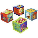 Bright Starts Cubes d'activités en tissu