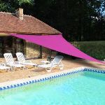 Ideanature Voile d'ombrage triangulaire 5 x 5 x 5 m