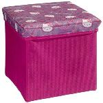 Delta Children Pouf de rangement pliable Hello Kitty