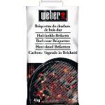 Weber 04628 - Sacs de 4 kg de briquettes de charbon de bois pour barbecues