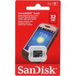 Sandisk Carte mémoire MicroSDHC 32 Go Classe 4