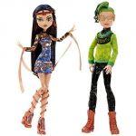 Mattel Monster High Boo York Cleo De Nile et Deuce Gorgon