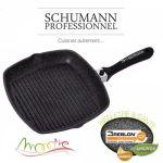 Schumann Mooove - Grill revêtement pierre 28 cm
