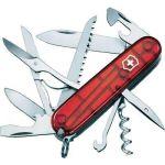 Victorinox Huntsman rouge translucide