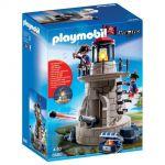 Playmobil 6680 Pirates - Phare lumineux avec soldats