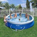 Bestway 57082 - Set piscine autoportante ronde Ø 457 x 91 cm