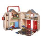 Coffret deluxe la caserne des pompiers Sam le Pompier