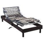 Someo Sommier de relaxation électrique Confort (2 x 100 x 190 cm)