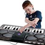 ThumbsUp Tapis musical DJ avec entrée MP3 et casque avec micro