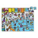 Vilac 2550 - Puzzle piscine en valise (96 pièces)