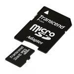 Transcend TS32GUSDHC10E  - Carte Mémoire microSDXC 32 Go Classe 10