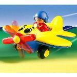 Playmobil 6717 - 1.2.3 : Pilote d'avion