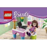 Lego 30102 - Friends : Olivia bureau avec ordinateur portable
