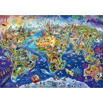 Schmidt Découvre notre monde - Puzzle 1000 pièces