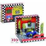Vilac 2363 - Coffret de course avec voitures de course