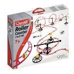 Quercetti Circuit de billes Skyrail Roller Coaster mini rail 8 m