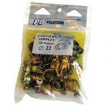 PB Fixation 56021 - Collier 7x150 simple D50 en sachet zippé de 6