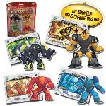 Giochi Preziosi 4 figurines + cartes Gormiti TV3