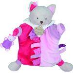 Doudou & cie Marionnette étiquette Chat
