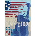 Unamourdetapis Tapis Down Town New York (170 x 240 cm)