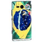 Amahousse 3819xpeSPBREZamh - Coque drapeau Brésil pour Xperia SP