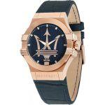 Maserati R8851108027 - Montre pour homme avec bracelet en cuir