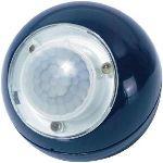 Gev Petite lampe mobile boule Led avec détecteur de mouvement