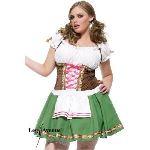Déguisement bavaroise femme (taille XXXL)