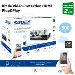 Sedea 550404 - Kit de vidéo protection HDMI