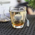 Pa design Boule à thé en silicone forme scaphandrier