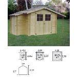 Decor et jardin 51358SAR0 - Abri de jardin en bois massif 19 mm 6,16 m2