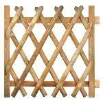 Jardipolys 0220978 - Portillon Stackette 100 en pin 1 x 1 m