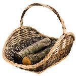 Provence outillage Panier à bûches en osier (67 cm)