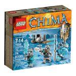 Lego 70232 - Legends of Chima : La tribu Tigre à dents de sabre