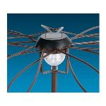 Intermas Gardening 190201 - Support solaire décoratif Solar Umbrella pour plantes grimpantes et retombantes Ø1 x 2,20 m
