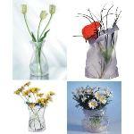 Pa design Vase Le sack modulable en plastique (12 x 28 cm)