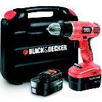 Black & Decker EPC14CABK - Perceuse sans fil 14.4V + 2 batteries