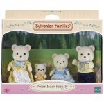 Epoch Sylvanian Families 5183 - Famille Ours Polaire