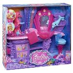 Mattel Salon de coiffure des sirènes Barbie