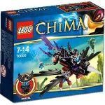 Lego 70000 - Legends of Chima : Le corbeau planeur de Razcal