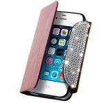 Avizar FOLIO-ZIRKOBAG - Étui à clapet Sac à main pour Apple iPhone 4