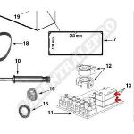 Procopi 32051123 - Micro-switch à souder de platine fin de course