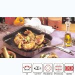 Beka Grillette Chef 26,5 cm inox intérieur revêtu compatible tous feux dont induction